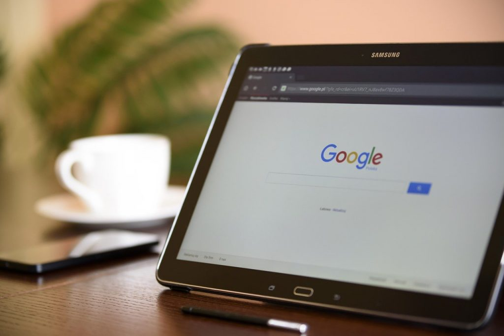 internet search engine, tablet, samsung